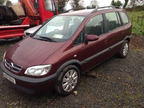 opel zafira 7 seater nct and tax for sale in balbriggan