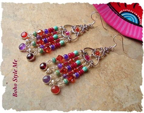 Gelang Fashion Gemstone Bohemian 17 best images about bohemian jewelry on assemblages boho style and bohemian jewelry