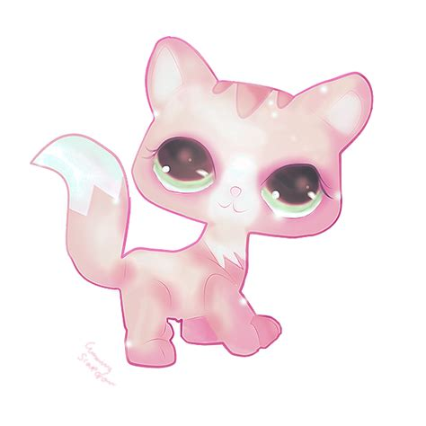 lps painting lps kittie by cunningscarecrow on deviantart
