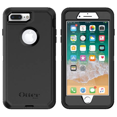 otterbox defender apple iphone 8 plus 7 plus black