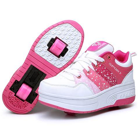 roue de la mode chaussures enfants roue chaussures 192 roulettes enfants sneakers casual