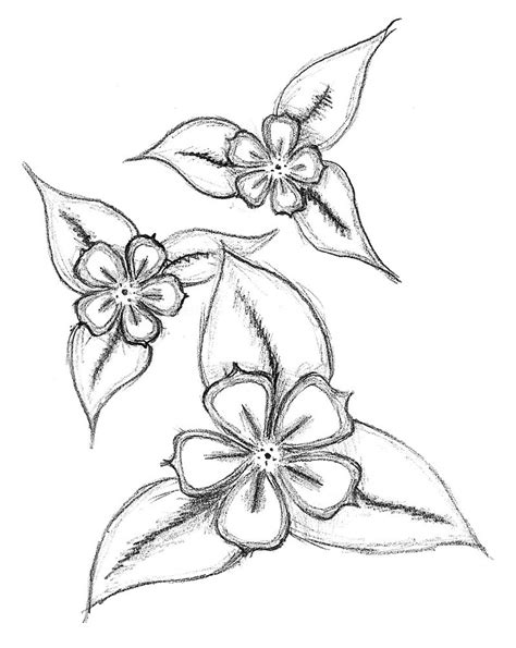 how to doodle easy flowers simple flower drawing new calendar template site