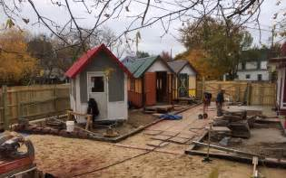 Tiny Houses In Tiny House For The Homeless