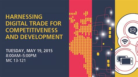 Competitiveness And Development harnessing digital trade for competitiveness and development