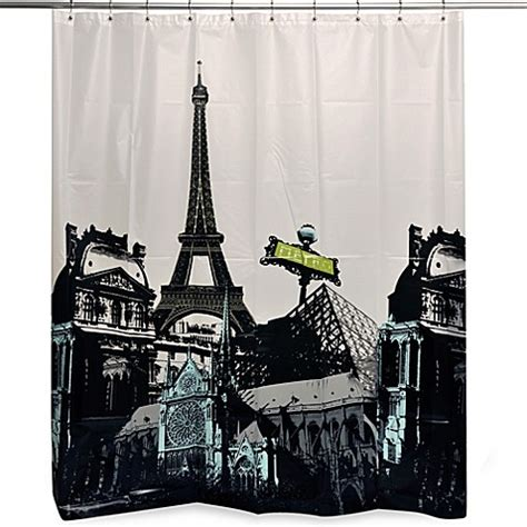 paris curtains bed bath beyond buy paris shower curtain from bed bath beyond