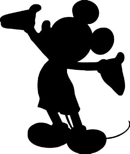 Mickey Mouse Silhouette Clip by Shadows Clipart Mickey Mouse Pencil And In Color Shadows