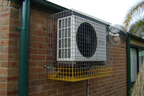 Protection Air Cover Indoor Size Motor Xs air condensing unit medium protective cage cg residential