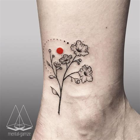 become a tattoo artist cherry blossoms tattoostagram dotwork
