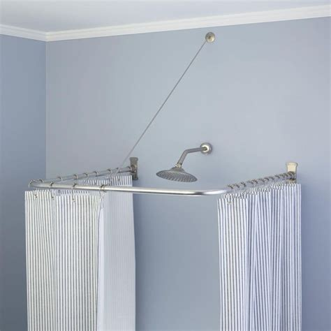 outdoor shower curtain rod best 25 rustic shower curtain rings ideas on pinterest