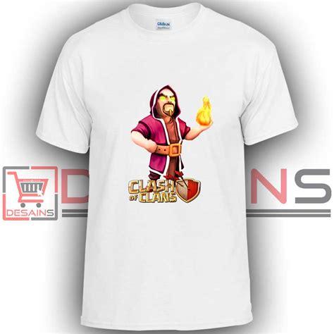 T Shirt Clash Of Clan Black buy tshirt clash of clans wizard tshirt youth and