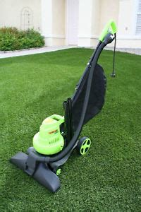Patio Vacuum Outdoor Lawn Yard Vacuum For Artificial Turf Or Leaves Ebay