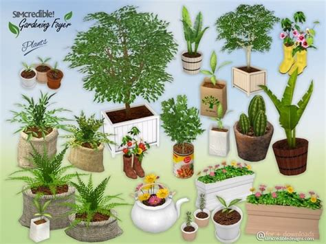 sims 3 foyer ideas gardening foyer plants by simcredible at tsr via sims 4