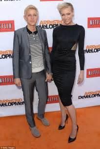 ellen degeneres assistant ellen degeneres says she and wife portia de rossi don t