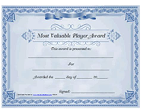 mvp certificate template player information template new calendar template site