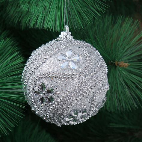 tree ornaments new 8cm decor luxury balls