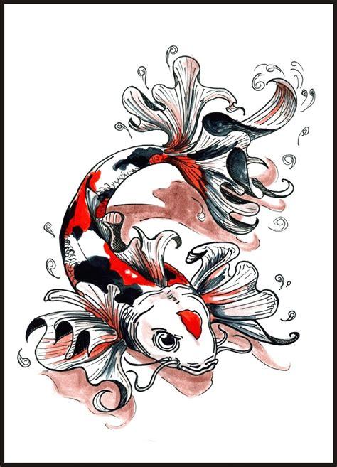 tattoo ikan koi yakuza great koi fish tattoo idea behind blue eyes