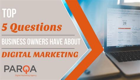 Top Mba Questions by Top 5 Questions Business Owners About Digital