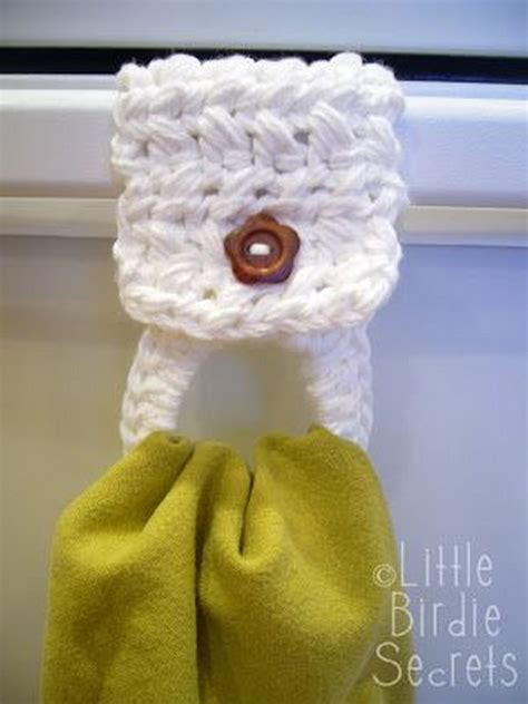 pattern for towel holder 30 easy crochet projects with free patterns for beginners