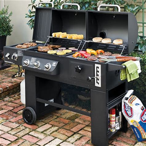 backyard classic professional hybrid grill hybrid grill infrared propane gas and charcoal cooking
