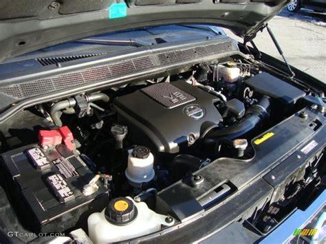 Nissan Titan Engine by 2010 Nissan Titan Le Crew Cab 4x4 5 6 Liter Dohc 32 Valve