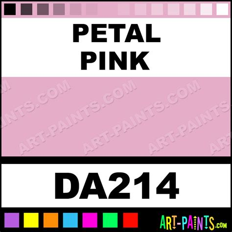petal pink decoart acrylic paints da214 petal pink paint petal pink color americana