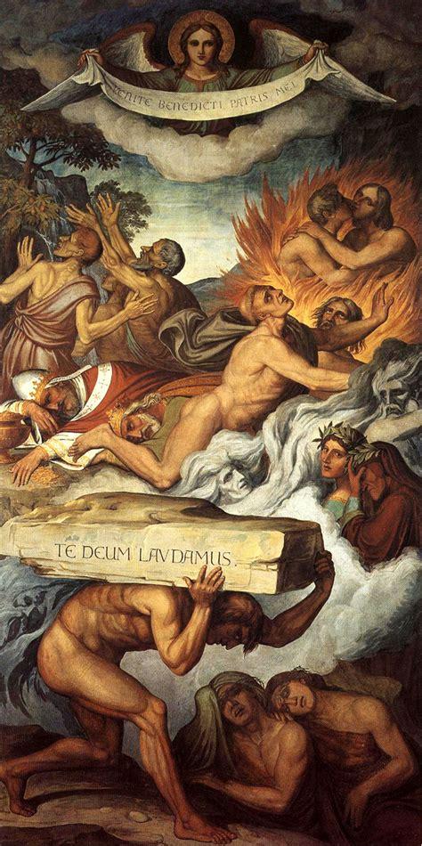 cornici purgatorio koch purgatorio espiazione dei sette peccati capitali