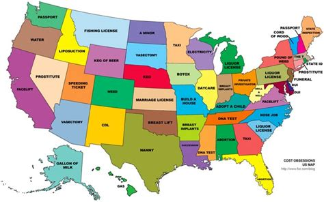 state pictures desire map of the 50 states