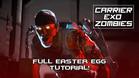 exo zombies easter egg aw carrier exo zombies full easter egg tutorial with end