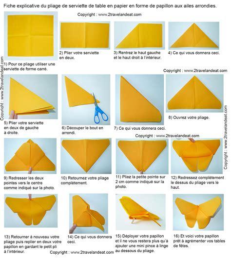 Pliage Serviettes Papier 2 Couleurs Facile by Pliage De Serviette En Papier 2 Couleurs Facile Amazing