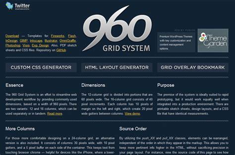 Yaml Design Vorlagen css grid systeme und grid generatoren f 252 r webdesigner