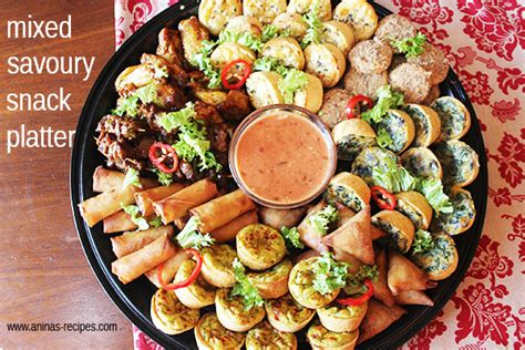Decorate Home For Birthday Party by Mixed Savoury Snack Platter Aninas Recipes
