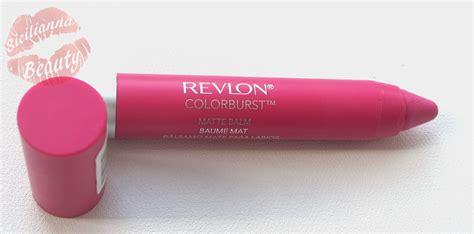 Lipstik Revlon Colorburst Matte Balm review revlon colorburst matte balm in showy lashes lipstick toronto