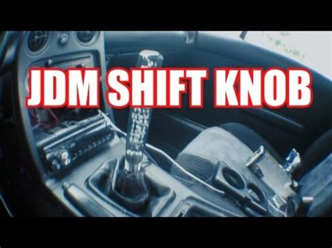 How To Make Your Own Shift Knob Knob Videolike
