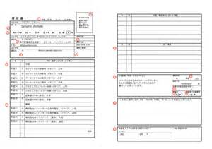 Resume Sample Japan by How To Complete A Rirekisho The Japanese Resume Tokyo