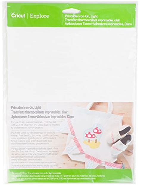 cricut printable iron on how to compare price iron on fabric for cricut on