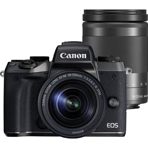 Canon Ef M 18 150mm F 3 5 6 3 Is Stm buy canon eos m5 ef m 18 150mm f 3 5 6 3 is stm in wi fi cameras canon uk store