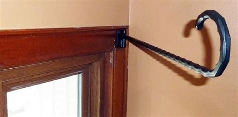 hinged curtain rod hinged curtain rod google search semi round window