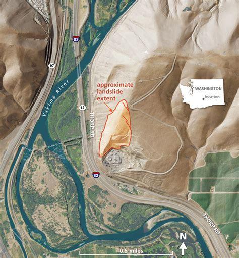 rattlesnake hills landslide wa dnr