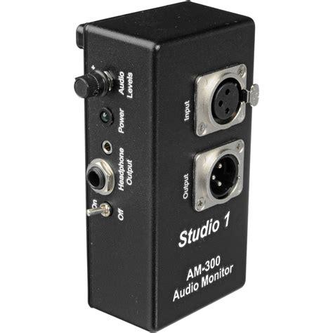 Headphone Monitor studio 1 productions am 300 headphone monitor lifier am 300