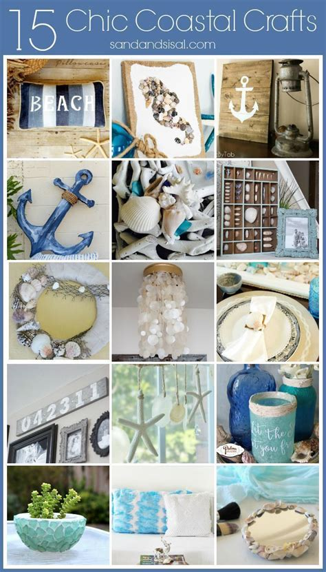 Crafts For Decorating Your Home 15 Chic Coastal Crafts For Your Home Amazing Diy Decor