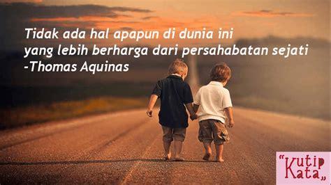 kata kata bijak persahabatan sejati kutipkata