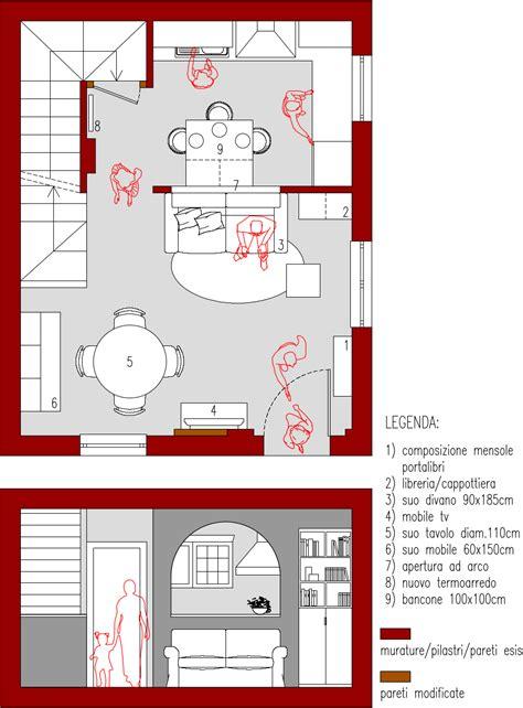 cucina soggiorno 25 mq arredare salotto rettangolare 25 mq arredaclick 100