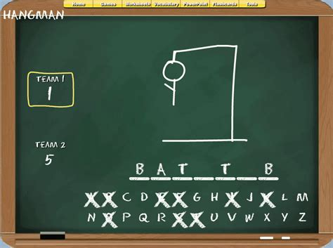 Barryfunenglish Fun Esl Classroom Games Custom Hangman Powerpoint