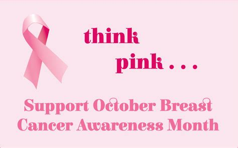 Think And Think Pink by This October Think Pink Outloud Multimedia