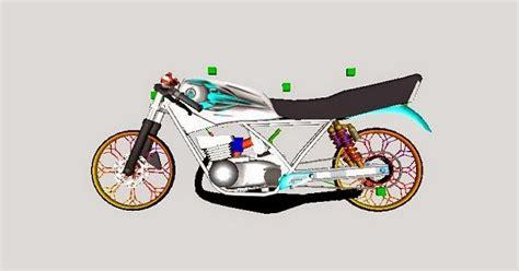 Mod Drag Lengkap rx king drag 225cc gtaind mod gta indonesia