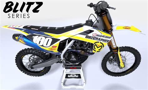 motocross bike graphics husqvarna blitz semi custom motocross graphics bikegraphix