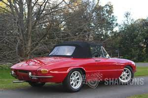 sold alfa romeo duetto 1600 spider auctions lot 22