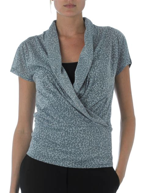 Linea Tunik Grey wrap top