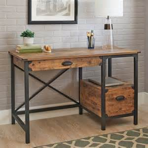 weathered wood desk better homes and gardens rustic country desk weathered