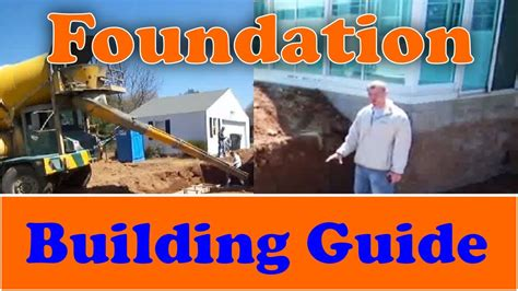 House Addition Floor Plans by How To Build A Foundation From Start To Finish Youtube
